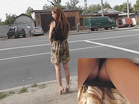 upskirt video