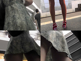 upskirt ass